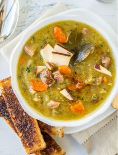 13 Vegetable Soup Recipes That'll Warm You Right Up via @PureWow
