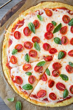 Cauliflower Pizza Crust by @Jaclyn Booton Booton Booton Bell {Cooking Classy}