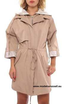 Trench Coat Isabell in Beige