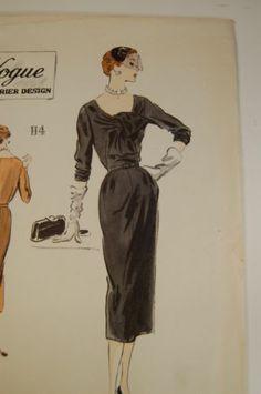 Vogue Couturier 697, ca 1952