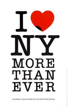 How True! #Milton #Glaser #NYC #NY