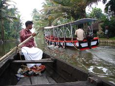 Kerala's backwaters  http://www.lonelyplanet.com/india/kerala/travel-tips-and-articles/76201#