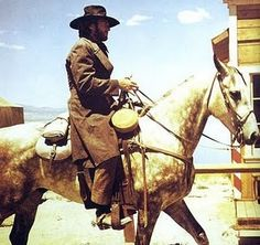 """Clint Eastwood, High Plains Drifter """"the man on the pale horse was death and…"""