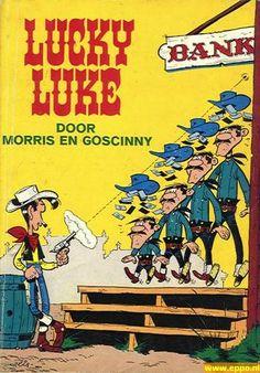 Lucky Luke en zijn Daltons...