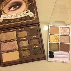"""""""Vinyl Collection"""" palette from #WetNWild  really reminds me of #TooFaced 's Natural at Night palette"""