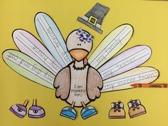 Thanksgiving Turkey Craft and Writing
