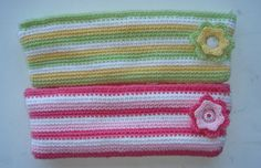 Free pattern. Crochet Missy Pencil case/make up bag.  crochetmissy.wordpress.com