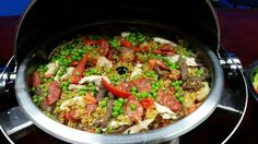 Paella de Carnes