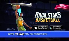 You've been invited to a Basketball paradise! Download now: http://ppok.me/bbl?c=so #RivalStars  #basketball #free