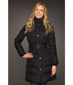 Tommy Hilfiger Side Channel Quilted Coat