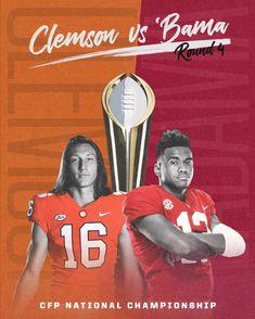 Clemson Football, Crimson Tide Football, Alabama Crimson Tide, Clemson Tigers, College Football, Cfp National Championship, Tuscaloosa Alabama, Nick Saban, University Of Alabama