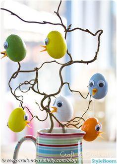 påsk,påskägg,påskpyssel,kycklingar,påskris,diy,pyssel,måla