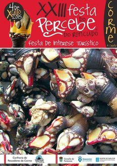 Festa do Percebe do Roncudo - Corme (A Coruña) Mes de Xullo