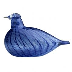 Iittala Art Glass, Toikka Birds Blue Bird - Collectible Figurines - For The Home - Macy's Cobalt Glass, Cobalt Blue, Blown Glass Art, Glass Birds, Vintage Pottery, Marimekko, Glass Design, Decorative Objects, Beautiful Birds