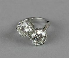 Anniversaire Anneau Real 2.84 CT REAL fantaisie bleu MOISSANITE /& argent sterling Taille 7