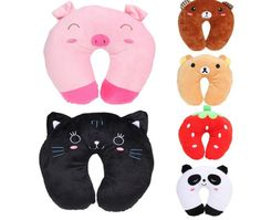 Travel Neck Pillow Toy Foam Comfy Car Plane Bus Road Trips Designed For Comfort Cervical Neck Pillow Available In 6 Cute Animal Designs sold by Limfinitee. Shop more products from Limfinitee on Storenvy, the home of independent small businesses all over the world.