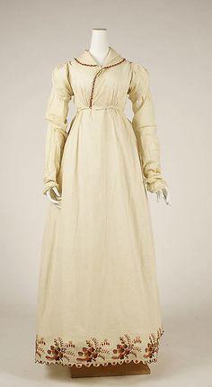 Morning Dress 1806 The Metropolitan Museum of Art - OMG that dress!