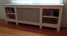 Radiator cover/bookcase