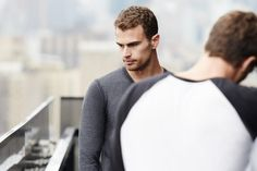 Sheo James — sheonewsdaily: New pictures of Theo James from...