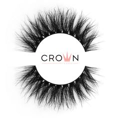 Crown Lashes Mink Fake Eyelashes in style Drama-Rama Fake Lashes, Eyelashes, Doll Eyes, Super Natural, Latex Free, Mink, Makeup Yourself, Cruelty Free