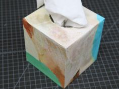 How To: Fancy Kleenex Box Cover