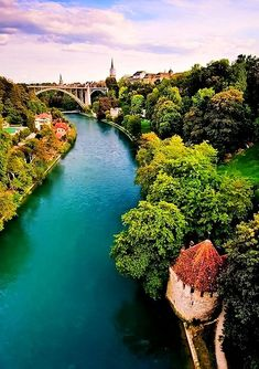 Switzerland - Bern: The Pureness of Blue -Essa cidade e linda. Places Around The World, Oh The Places You'll Go, Travel Around The World, Places To Travel, Places To Visit, Around The Worlds, Dream Vacations, Vacation Spots, Vacation Travel