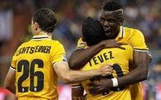 La Juventus vince contro la Samp grazie a Tevez #juventus #seriea #tevez #conte
