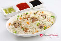 #Hungry yet?! #FoodPhotography by Santhosh Raj  #PhotoConcierge #StockPhoto #Photography #Food #YummyFood #MushroomRice