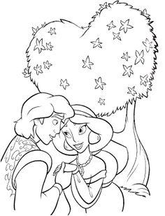 aladdin magic carpet coloring pages - photo#21