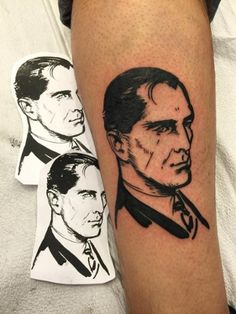 Black and Grey Portrait by A.R.T. Graduate Carlos. Want to tattoo portraits like this? Click for more information on how to become a tattoo artist.