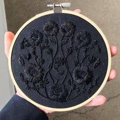 Grand Sewing Embroidery Designs At Home Ideas. Beauteous Finished Sewing Embroidery Designs At Home Ideas. Hand Embroidery Stitches, Diy Embroidery, Cross Stitch Embroidery, Embroidery Sampler, Embroidery Hoops, White Embroidery, Cross Stitches, Diy Clothes Embroidery, Embroidery On Jeans