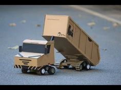 How to Make Hydraulic JCB From Cardboard - YouTube Helicopter Craft, Cardboard Toys, Origami Art, Radio Control, Garden Crafts, Toddler Activities, Luxury Cars, Jeep, Paper Crafts