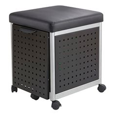 Shop for Safco Scoot Mobile Filing with Cushioned Seat. Get free delivery On EVERYTHING* Overstock - Your Online Filing & Storage Destination! Closet Storage, Storage Drawers, Storage Area, Craft Storage, Storage Chest, Rolling Storage, School Furniture, Office Furniture, Hanging Files