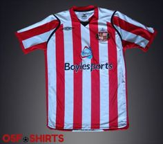 Sunderland-Home-Football-Shirt-2008-2009-Jersey-Trikot-Maglia-Camiseta-Soccer