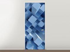 Tür #Tapete 3D-Säulen