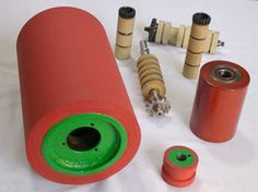 rodillo Tapas, Industrial, Natural Rubber, Bronze, Industrial Music