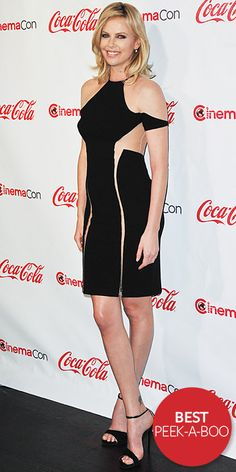 Best of 2012: Peek-a-Boo — With a body like hers, it's no wonder #CharlizeTheron dared to bare in an edgy design. #lookoftheday http://www.instyle.com/instyle/lookoftheday/0,,,00.html