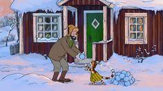 Petterson y Findus - La nieve