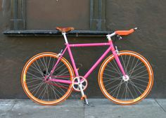 Hot Pink | Mission Bicycle Company