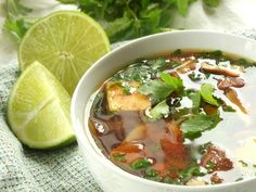 Thai Lemongrass Soup - Connoisseurus Veg