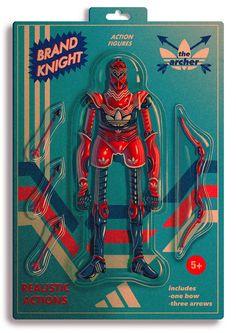 Brand Knights: Illustrations by Dexter Maurer | Inspiration Grid | Design Inspiration