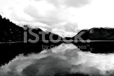 Lake and Mountains with Reflection. Reflection Photos, New Zealand Landscape, Photo Stock Images, Image Now, National Parks, Scenery, Royalty Free Stock Photos, Twitter Headers, Beach