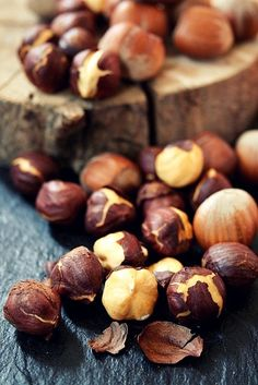 In Season - September. Hazelnuts are great in salad and add texture and flavour to a biscuit base for a cheese cake.