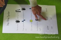 An itsy bitsy play about spiders by Teach Preschool