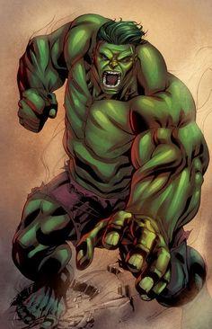 #Hulk #Fan #Art. (Hulk) By: Robert Atkins & RyanLord. ÅWESOMENESS!!!™ ÅÅÅ+