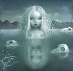 the darkness of the merfolk.  be very wary of the stray emotion...