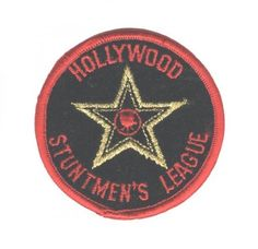 Hollywood Stuntmen's League Patch - California