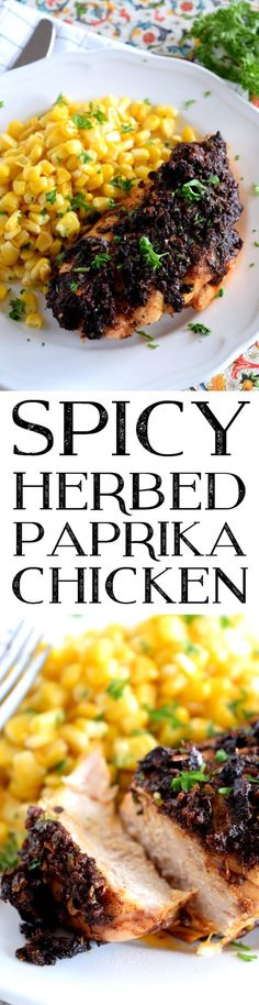 Spicy Herbed Paprika Chicken - Lord Byron's Kitchen