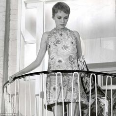 Jasper's catwalk played host to a Sixties-inspired collection and his inspiration came from Mia Farrow