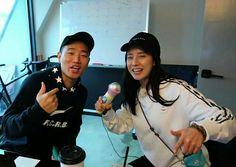 Song Ji Hyo and Kang Gary, Running Man ep. 325
